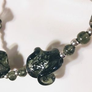 Jewelry - Unique Glass Beaded Necklace